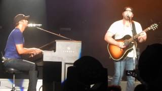 Crazy Girl - Luke Bryan/Lee Brice - Atlanta - 7/25/14