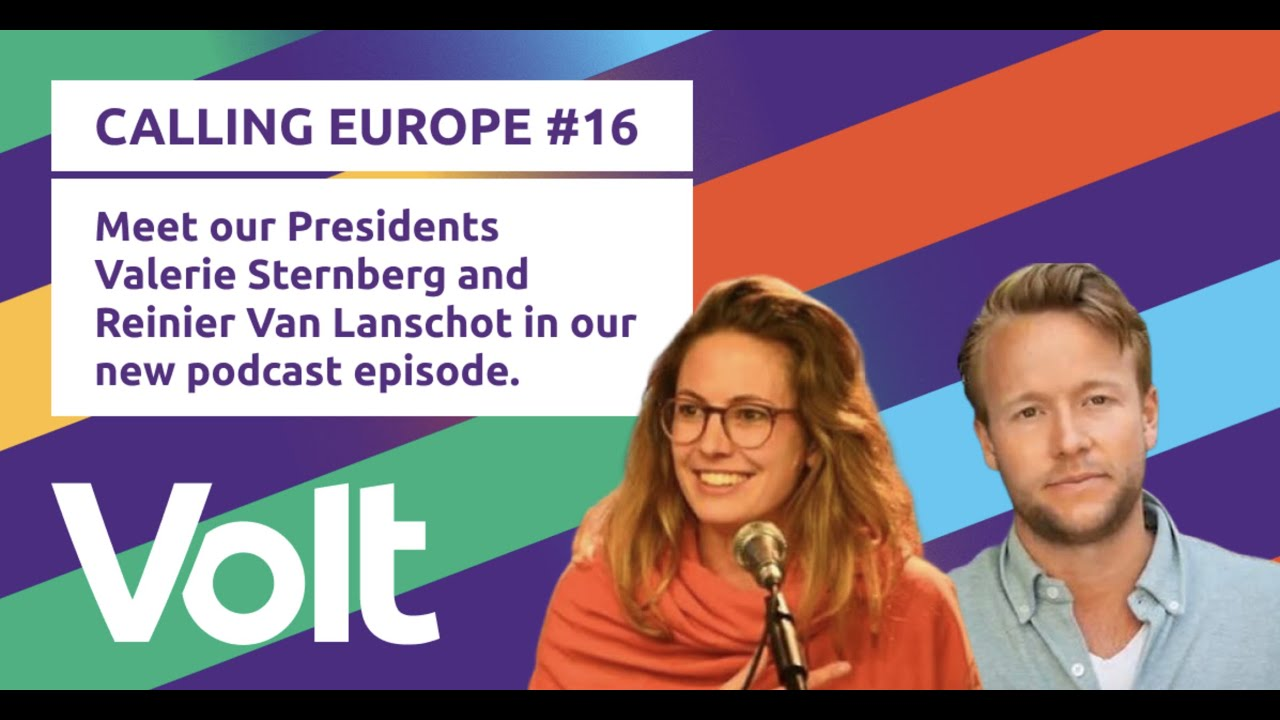 YouTube: CALLING EUROPE #16 // Valerie Sternberg and Reinier Van Lanschot look back and share their hopes