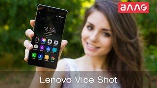 видео обзор смартфона Lenovo Z90 Vibe Shot 32 ГБ красный
