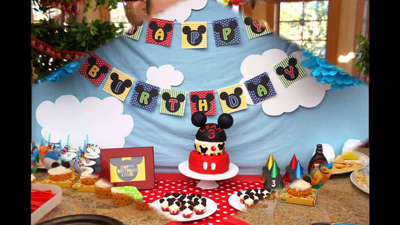 Awesome Mickey Mouse Clubhouse Birthday Party Decoration