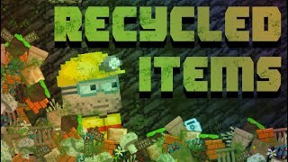 Where do recycled items go? [VOTW]