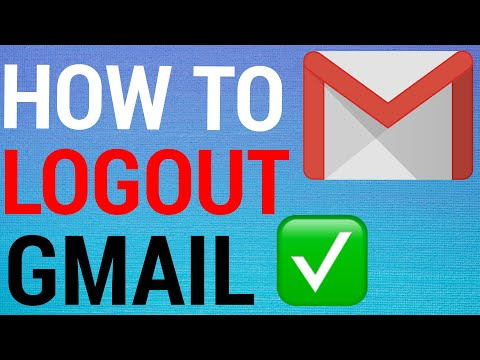 How To Sign Out Of Gmail On Android (2020)