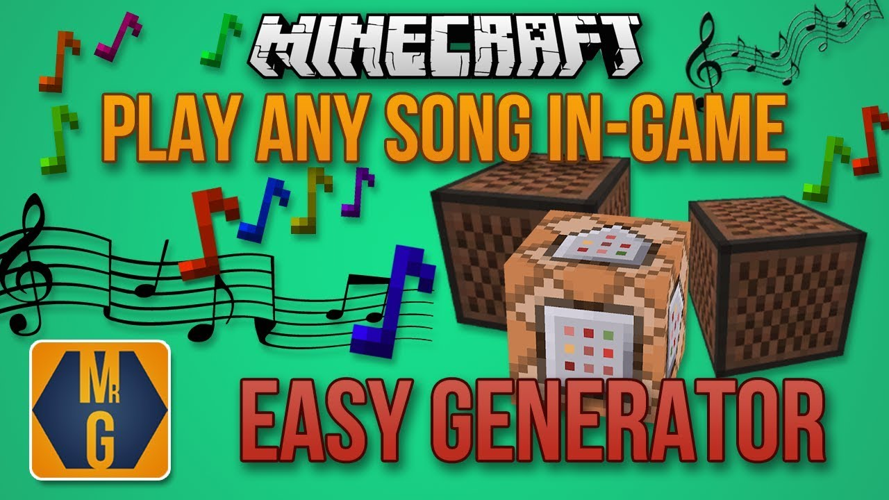 Play any song in Minecraft 1 13! (Automatic Generator)
