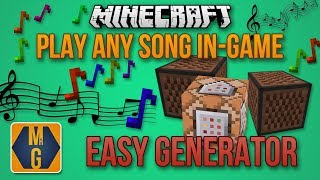 MCMidi - Generator that converts any song into commands for Minecraft 1.13