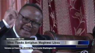 Mkutano wa Tundu Lissu Washington DC - Sehemu ya Kwanza