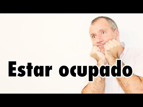 【スペイン語】#150 Estar ocupado