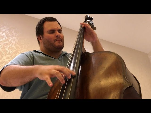 DOUBLE BASS SOLO: Aspero