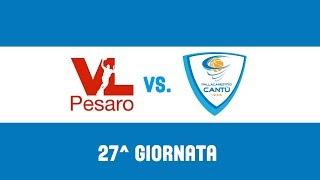27^Giornata: VL Pesaro - Red October Cantù 82-91 thumbnail