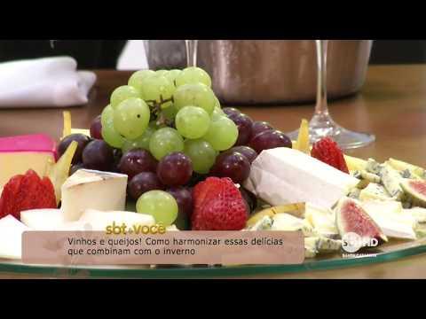 Como harmonizar queijos e vinhos | SBT & Você (28/07/2018)