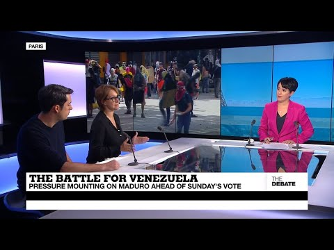 THE DEBATE - The Battle for Venezuela: Pressure mounting on Maduro ahead of Sunday's vote