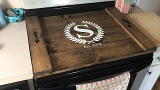 Stove Top Cover | DIY with custom design