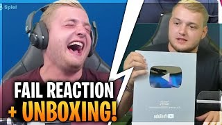 Trymacs REAGIERT auf SEINE FAILS! 😂 | Playbutton Unboxing! |Trymacs Stream Highlights