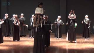 مصر العربية | فرقة ملوي تحيي حفل الافتتاح الجزئي لمتحف الحضارة بالفسطاط