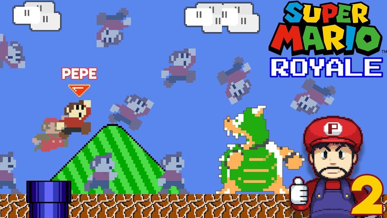 Adiós Mario Royale :(    - Jugando DMCA Royale con Pepe el Mago (#2)