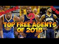All Top 2018 NBA Free agency predictions destinations LeBron James Lakers Paul George teams Trade FA