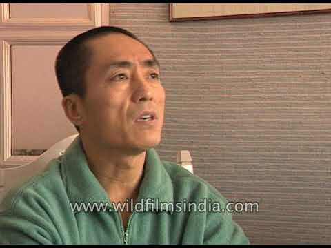 Zhang Yimou, a Chinese director & writer, known for Curse of the Golden Flower
