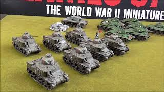 Soviet Armour Options in Flames of War Enemy At The Gates