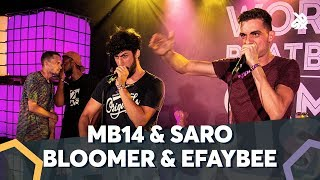 MB14 & SARO VS BLOOMER & EFAYBEE |  WBC TAG TEAM BATTLE | Semi Final