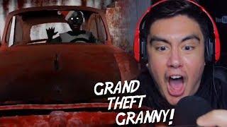 GRANNY WANTS REVENGE FOR STEALING HER CAR  | Granny (New Ending + Nightmare Mode)