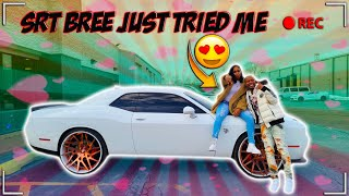 I CANT BELIEVE SRT BREE DID THIS IN MY REDEYE HELLCAT I TOLD HER TO SLOW DOWN 🤦🏿‍♂️