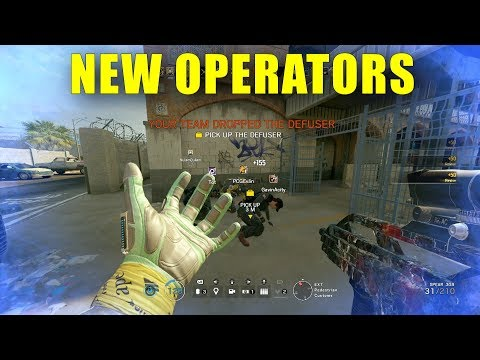 PLAYING OPERATION CHIMERA EARLY! - Rainbow Six Siege