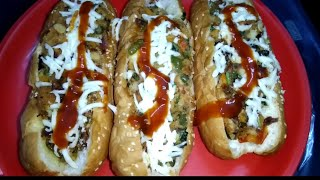 CHEESY HOT DOG | delicious and tasty home-made recipei |