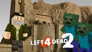 BATALLA ÉPICA!! con Rubius (Abismo de Helm L4D2 Minecraft Mod) [Parte 1]