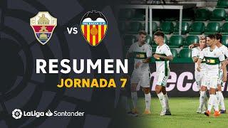 Resumen de Elche CF vs Valencia CF (2-1)