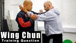 Wing Chun training - wing chun how to use grabbling range. Q30