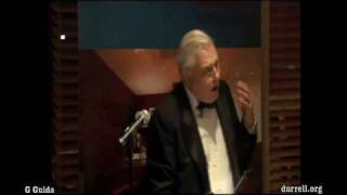 David Attenborough speech about Durrell (short clip)
