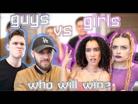 GUYS VS GIRLS ft Josh Santos, Nezza, & Sole