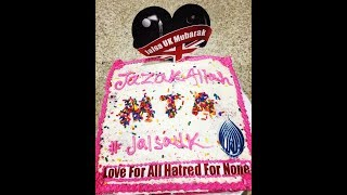 Special cake for Jalsa UK