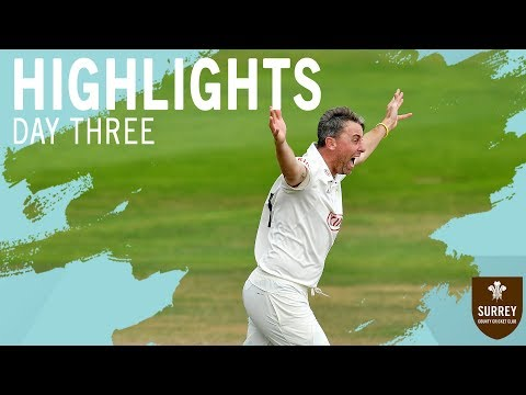 Clarke takes four to give Surrey victory! Highlights of County Championship v Essex - Day Three