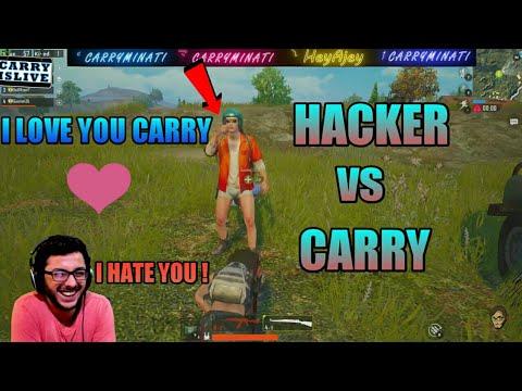 "Carry Minati Vs Pubg Hacker Part 1 , Hacker Proposal To Carry Minati "" I LoVe You """
