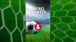 Rafael Aghayev playing football