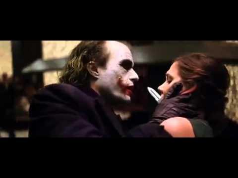Joker üzündəki çapıq haqda 2 (Qara cəngavər - Betmen)