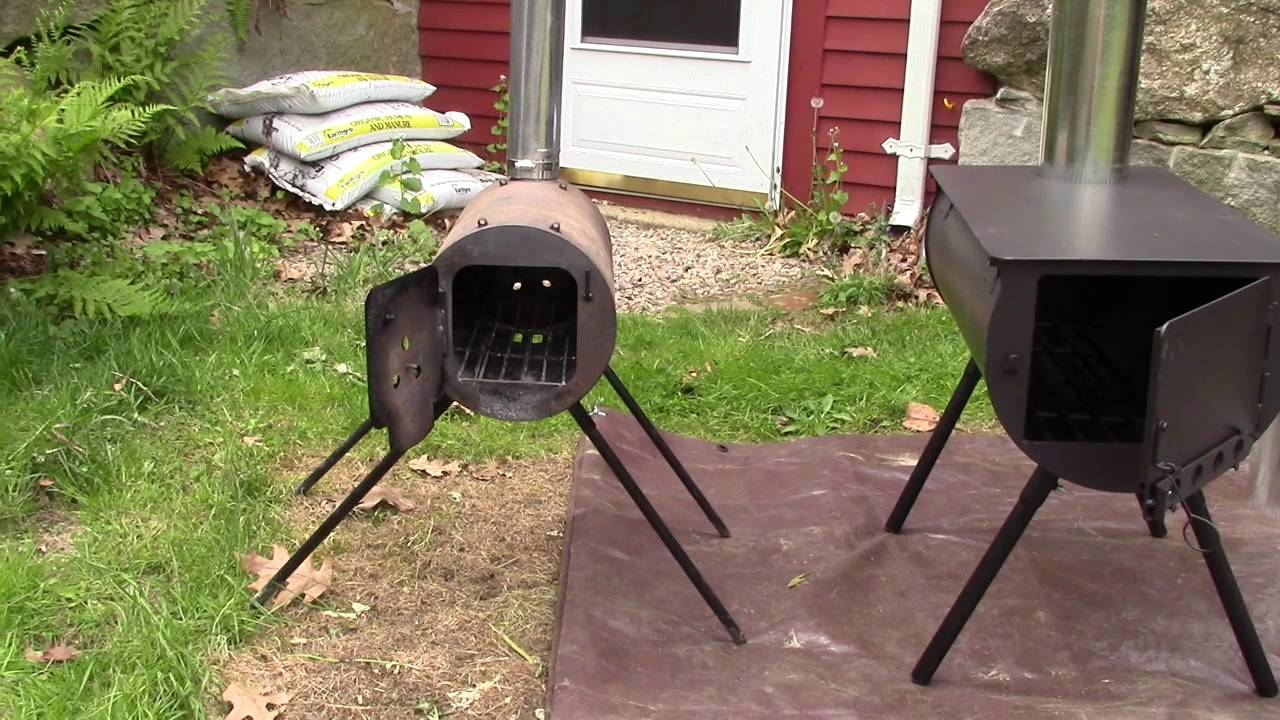 Tent Stove Alpine Camp Chef Vs Tms Military Youtube