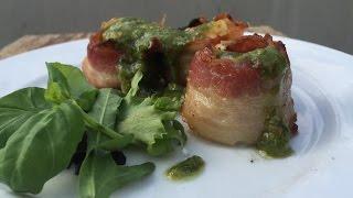 Scallop with licorice pesto - english Grill- and BBQ-Recipe - 0815BBQ