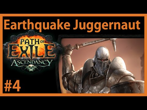 Sunder is awesome! - #4 - PHC Earthquake Juggernaut - Path of Exile (v2.2.0)