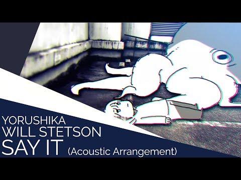 Say It -Acoustic-