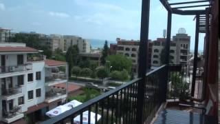 Двухкомнатная квартира с видом на море в апарт отель Сан ( Sun) - 150 м от пляжа в Солнечном берегу(, 2015-06-28T15:48:51.000Z)
