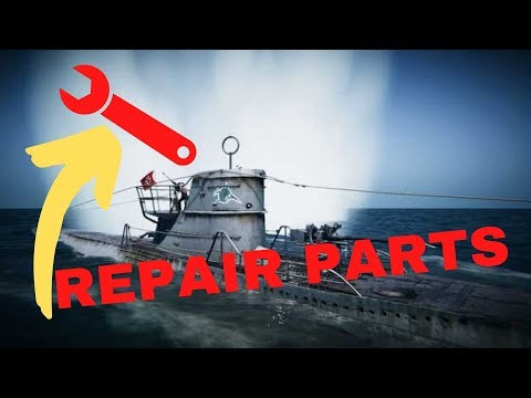 (UBOAT) How To Craft Replacement Parts