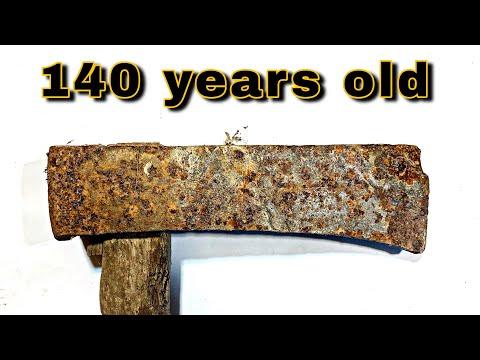 Antique Japanese Axe Restoration