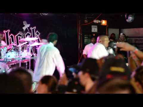 Speedom WWC2 LIVE Krizz Kaliko introducing his band members and unexpected Techn9ne Techn9ne  Eminem