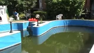 Гидроизоляция бассейна в старой плитки(Гидроизоляция бассейна старой плитки. Расширенный бассейн окрашены алифатических краски белого и синего..., 2015-02-23T14:20:22.000Z)