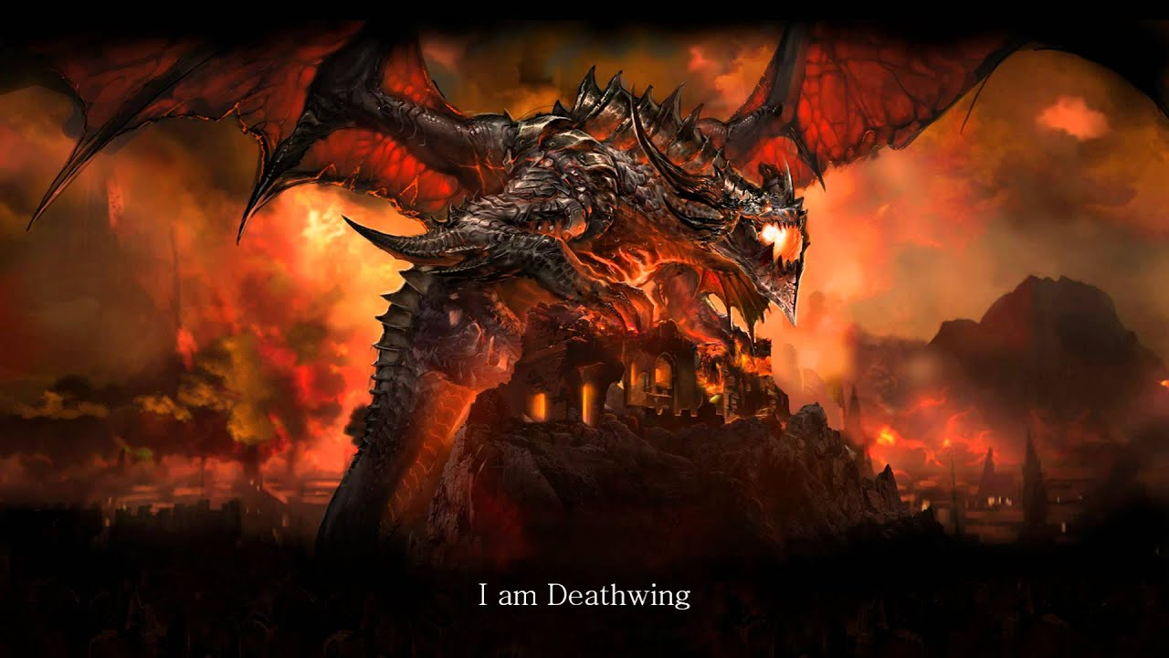 3d Animated Wallpapers For Windows 7 Dragon Soul Deathwing World Of Warcraft Voice Youtube