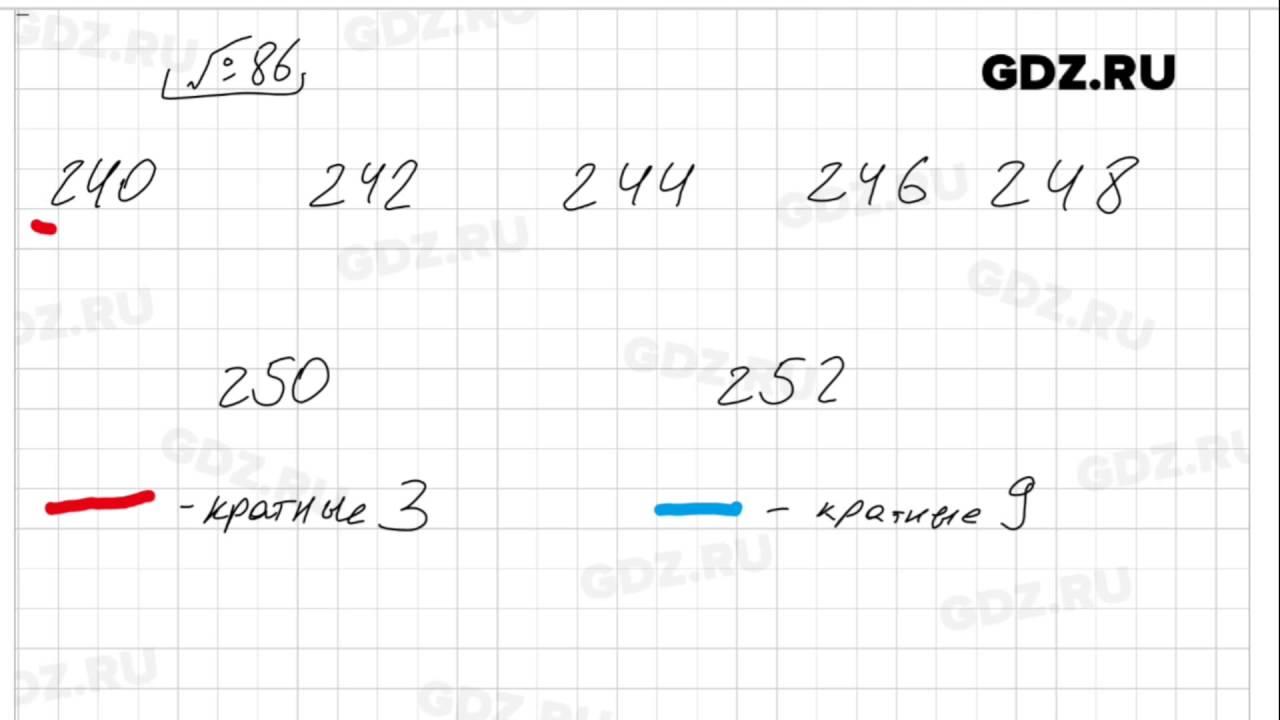 Гдз учебник 2015. Номер 86 (89) математика 6 класс виленкин, жохов.