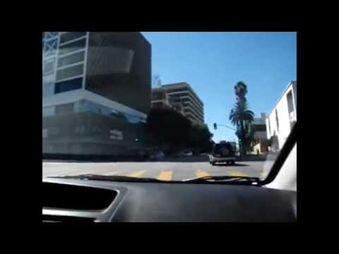 Driving Tour of Los Angeles