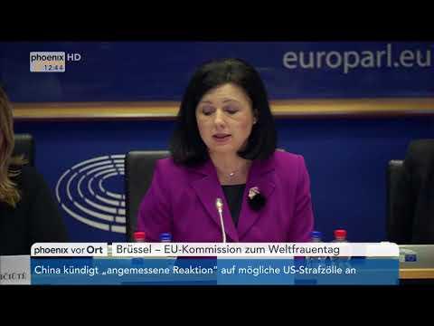 EU-Kommission Zum Weltfrauentag: Statement Von Vera Jourová Vom 08.03.2018