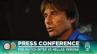 INTER vs HELLAS VERONA | Antonio Conte Pre-Match Press Conference LIVE 🎙⚫🔵 [SUB ENG]